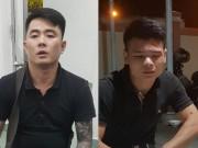 CSGT đuổi theo xe Lexus, bắt 2 thanh niên nghi tàng trữ ma túy