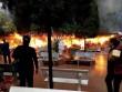 Cháy dữ dội ở đền Mẫu Đồng Đăng ngày mồng 5 Tết