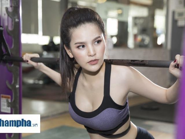"""""""Thánh nữ Mì Gõ"""" Trang Phi nóng bỏng tập gym, lộ chiêu giảm cân sau Tết"""