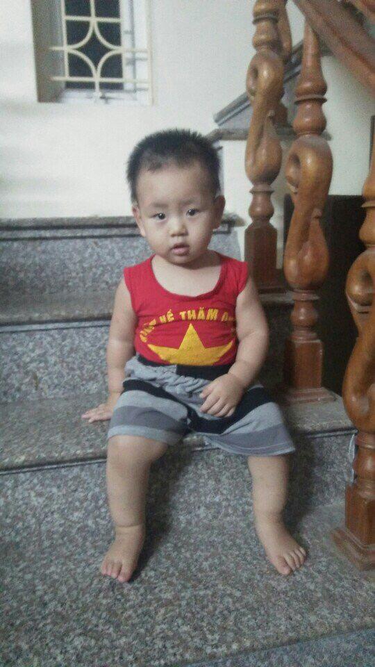 """Gặp lại bé trai có cân nặng """"khổng lồ"""" ngay lúc lọt lòng ở Nam Định - 5"""