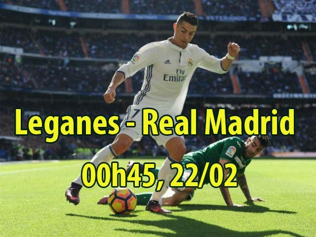 """Leganes - Real Madrid: Vua Ronaldo bùng nổ, """"ngắm bắn"""" tý hon"""