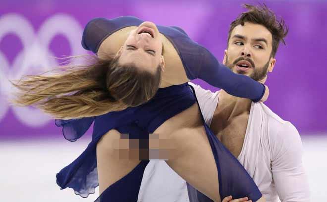 """Người đẹp hở trên lộ dưới: """"Đỏ mặt"""" ở Olympic mùa đông - 4"""