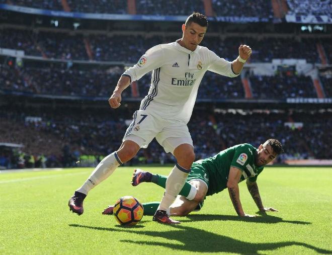 """Leganes - Real Madrid: Vua Ronaldo bùng nổ, """"ngắm bắn"""" tý hon - 1"""