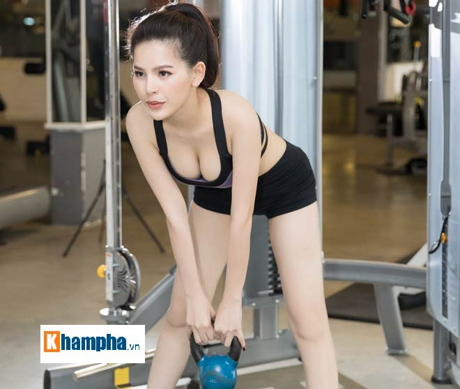 """""""Thánh nữ Mì Gõ"""" Trang Phi nóng bỏng tập gym, lộ chiêu giảm cân sau Tết - 3"""