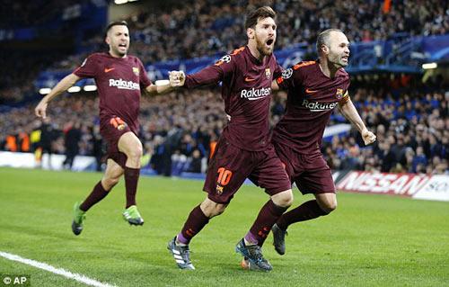 Chi tiết Chelsea - Barcelona: Cuối trận quyết liệt (KT) - 10