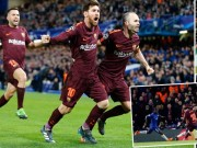 Bóng đá - Góc chiến thuật Chelsea – Barca: Sai một ly Messi cho đi một dặm