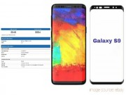"Lộ điểm Geekbench của Galaxy S9+: iPhone X  "" tuổi gì "" ?"
