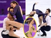 """Người đẹp hở trên lộ dưới:  """" Đỏ mặt """"  ở Olympic mùa đông"""