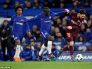 """Chelsea cầm hòa Barca: Biến Messi thành  """" người thường """" , phục thù ở Nou Camp"""