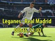 """Leganes - Real Madrid: Vua Ronaldo bùng nổ,  """" ngắm bắn """"  tý hon"""