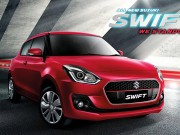 Suzuki Swift 2018 chuẩn bị  đổ bộ  Việt Nam?