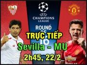 """TRỰC TIẾP bóng đá Sevilla - MU: Mourinho tạo """"mê hồn trận"""" với Pogba"""