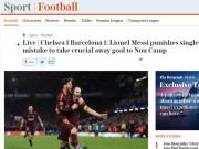 """Bóng đá - Chelsea """"rơi vàng"""" trước Barca: Báo Anh công kích """"Terry đệ nhị"""""""