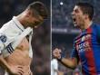 Bàn thắng đẹp vòng 24 La Liga: Siêu phẩm Ronaldo, Suarez phải ngả mũ
