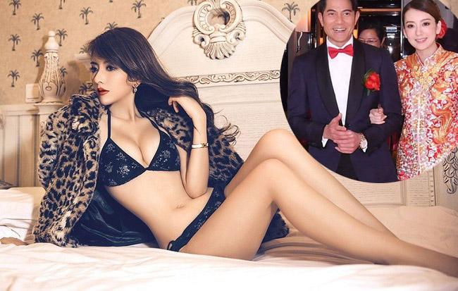 """""""Thiên vương Hồng Kông"""" Quách Phú Thành từng có quan hệ yêu đương chính thức lẫn tin đồn với 16 người đẹp. Họ đều những chân dài nổi tiếng và vô cùng nóng bỏng.  1. Hiện tại, người mẫu Phương Viện là vợ hợp pháp của Quách Phú Thành."""