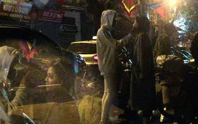Lộ ảnh thân mật giữa Soobin Hoàng Sơn và bạn gái tin đồn - 1