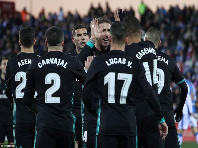 Không Ronaldo vẫn hạ đẹp Leganes, HLV Zidane lớn tiếng đe dọa PSG