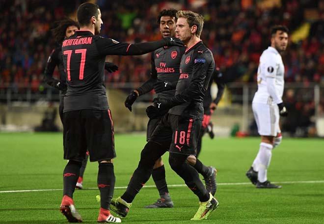 """Arsenal - Ostersunds: Chờ Mkhitaryan """"gánh team"""", sẵn sàng chiến Man City - 1"""