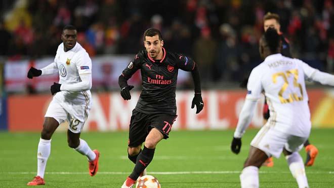 """Arsenal - Ostersunds: Chờ Mkhitaryan """"gánh team"""", sẵn sàng chiến Man City - 2"""