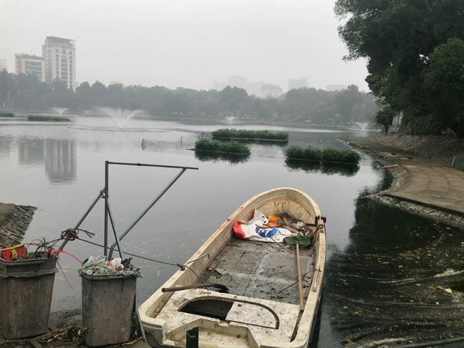 Thiên nga được bảo vệ ra sao ở hồ Thiền Quang dịp Tết? - 2