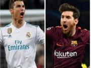 """Hạ thấp PSG – Chelsea, Ronaldo nhắn tin hẹn Messi đấu """"El Clasico"""" cúp C1"""