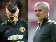 """Chuyển nhượng MU: Mourinho  """" mở cửa """"  để De Gea sang Real"""