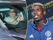 """Chuyển nhượng MU:  """" Siêu cò """"  dọa Pogba rời Old Trafford"""