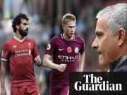 """Hay nhất Ngoại hạng Anh:  """" Nhờ """"  Mourinho, Salah đại chiến De Bruyne"""