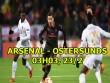 """Arsenal - Ostersunds: Chờ Mkhitaryan """"gánh team"""", sẵn sàng chiến Man City"""