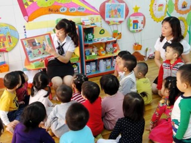 Hà Nội: Sẽ chấn chỉnh việc quản lý với bậc giáo dục mầm non