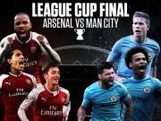Man City đại chiến Arsenal: Siêu đại tiệc tấn công lên ngôi