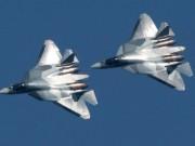 Tiêm kích Su-57 Nga  thử lửa  ở Syria: Dằn mặt F-22 Mỹ?