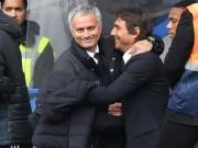 Tin HOT bóng đá trưa 23/2: Mourinho tự nhận lịch thiệp, hứa ôm hôn Conte