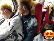 """Hành động đẹp của hai thanh niên Việt  """" đốn tim """"  dân Đài Loan"""