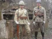 2 người TQ bị chỉ trích vì ăn mặc như phát xít Nhật