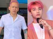 """Ca sĩ Duy Mạnh và dàn sao Việt gây chú ý với tóc  """" nụ tầm xuân """""""