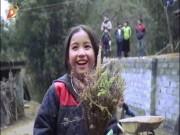 Bé gái dân tộc H Mông với nụ cười tỏa nắng gây chú ý