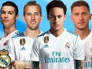 """Ronaldo tìm  """" tam tấu """"  mới cho Real: Chấm Hazard-Kane, Neymar ra rìa"""