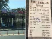 Nhà hàng bị tố  ' chém '  bữa ăn gần 10 triệu, xuất hóa đơn tiếng Trung