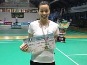 Hot girl cầu lông Thùy Linh: Đẳng cấp thế giới, chinh phạt mùa giải 2018