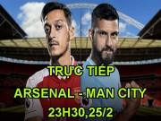 Arsenal - Man City: Bước đầu tiên của cú ăn 3? (Chung kết League Cup)