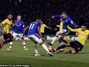 """Watford - Everton:  """" Ong đốt """"  đau điếng, phút cuối thót tim"""
