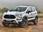 Ford EcoSport Storm 2018 phiên bản hiệu năng cao sử dụng hệ dẫn động 4 bánh