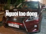 Từ TPHCM xuống Cần Thơ trộm xe Lexus của người tình cũ