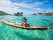 Bộ lạc Malaysia cả đời chỉ sống trên biển
