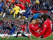 MU ngược dòng Chelsea: Báo chí Anh ngây ngất Lukaku, thán phục Mourinho