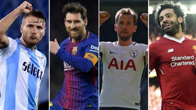 """Đua Giày vàng: Messi - Kane - Salah chung mâm, Ronaldo """"ra rìa"""" - 1"""
