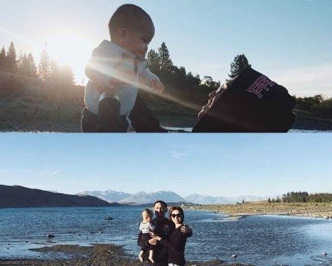 Vợ chồng Hà Tăng khoe ảnh tình cảm tại New Zealand - 5