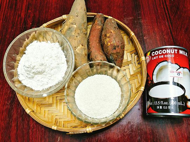 Đã nghiền với khoai lang kén nước cốt dừa thơm lừng, ngọt lịm - 2