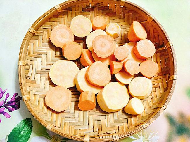 Đã nghiền với khoai lang kén nước cốt dừa thơm lừng, ngọt lịm - 3